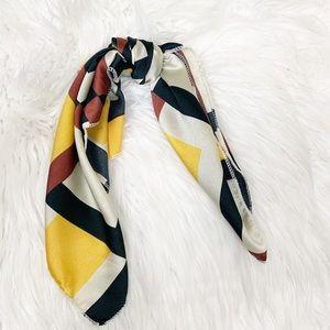 2/12$ silky hair scarf